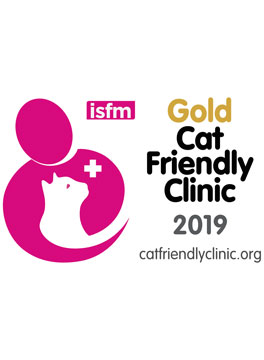 ISFM Gold cat friendly logo